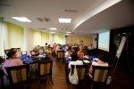 """Projekto pilotinės Druskininkų """"Atgimimo"""" vidurinės mokyklos komandos pedagogams skirtas kvalifikacijos tobulinimo seminaras """"Šiuolaikiškas požiūris į IKT ir inovatyvių mokymo(si) metodų taikymą pradiniame ir specialiajame ugdyme. Strateginio IKT ir inovatyvių mokymo(si) metodų diegimo mokykloje plano rengimas"""". 2010 m. rugpjūčio 17 d., Druskininkai"""